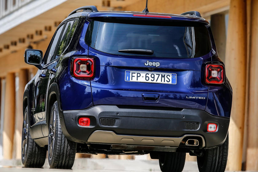 2021 Jeep Renegade SUV rear view