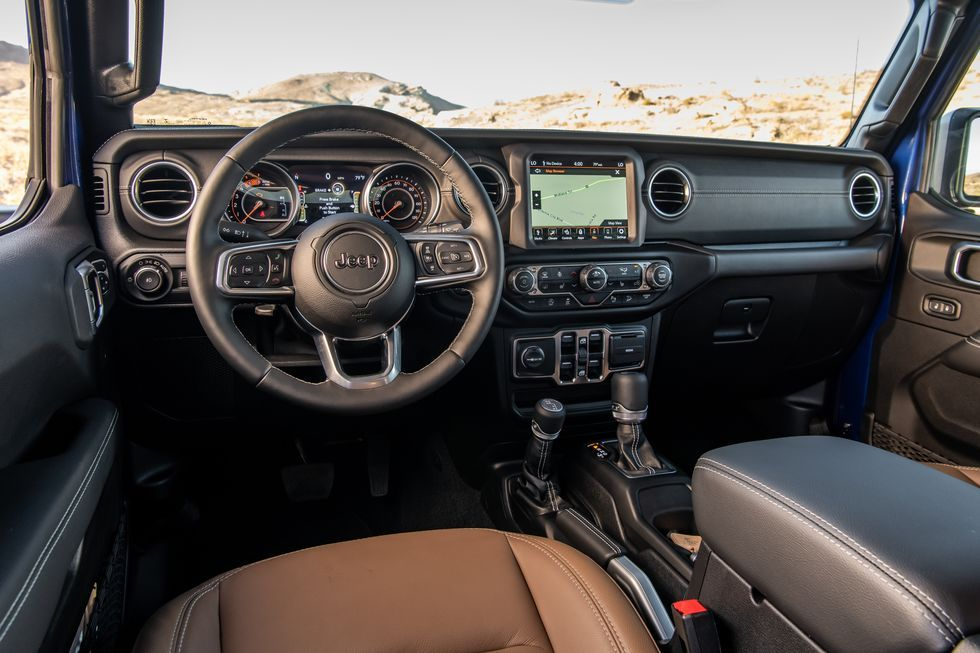 2020 Jeep Wrangler interior