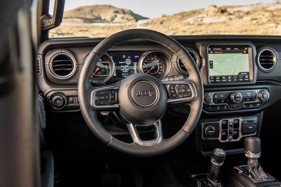 2020 Jeep Wrangler steering