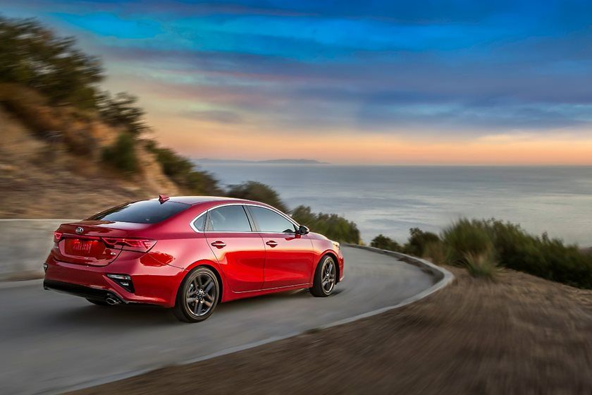 2020 Kia Forte Sedan Rear View