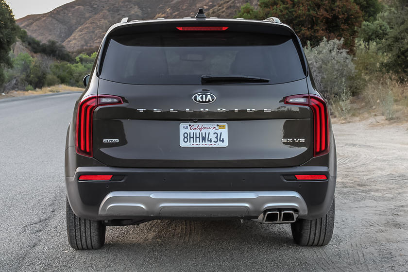 2021 Kia Telluride SUV rear view