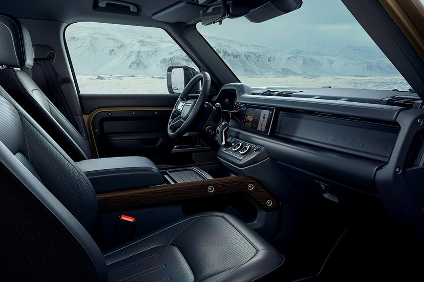 2020 Land Rover Defender SUV Front Seats