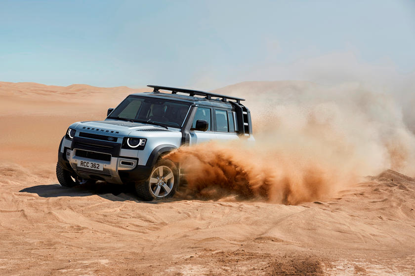 2020 Land Rover Defender SUV Side View