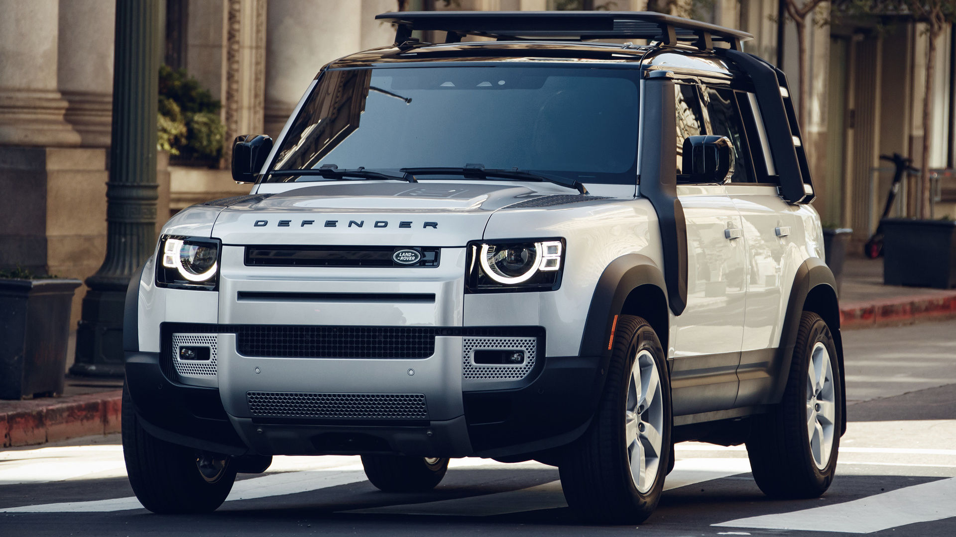 2021 Land Rover Defender SUV Front View