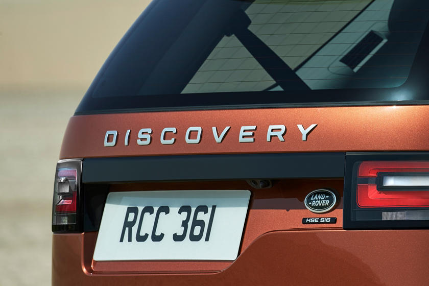2020 Land Rover Discovery SUV Rear Badge