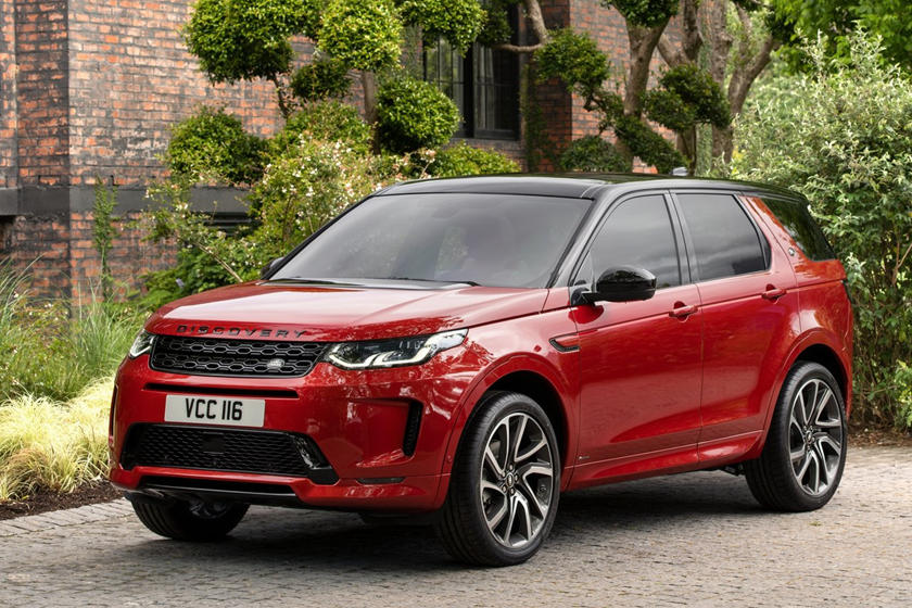 2021 Land Rover Discovery Sport SUV 3 Quarter Front View