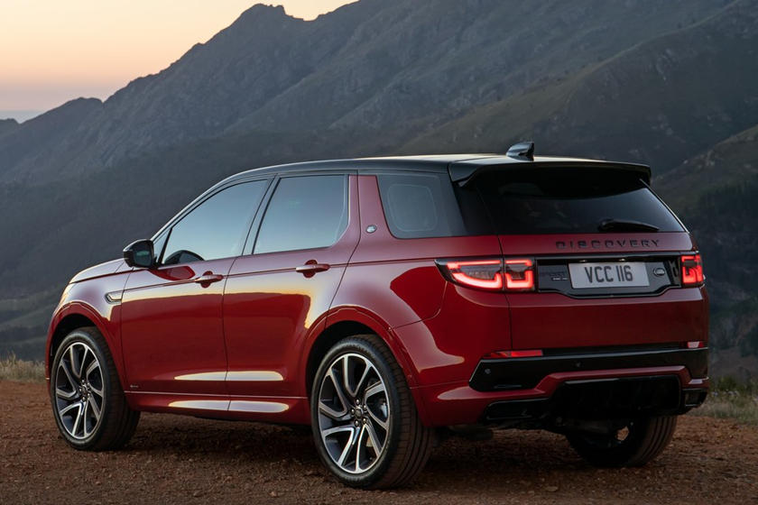 2021 Land Rover Discovery Sport SUV 3 Quarter Rear View