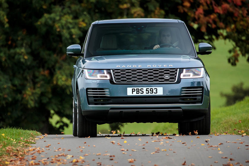 2020 Land Rover Range Rover SUV Front View