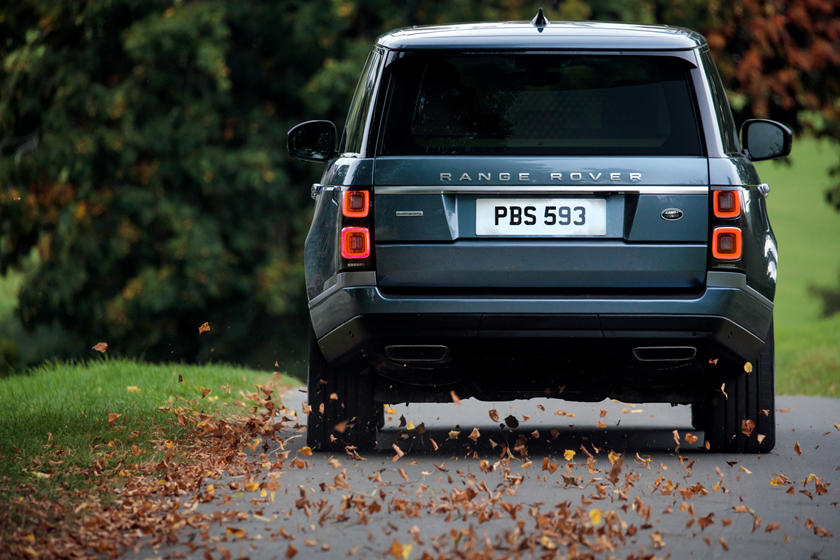 2020 Land Rover Range Rover SUV Rear View