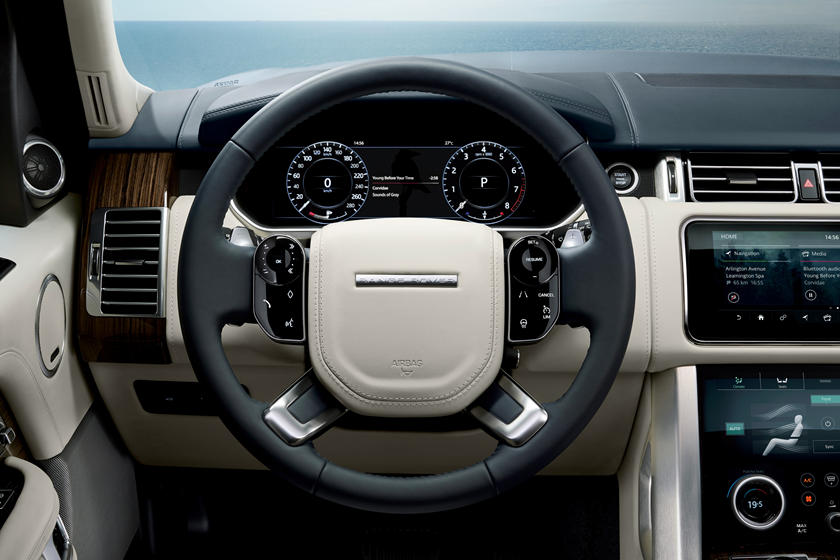 2020 Land Rover range rover autobiography steering