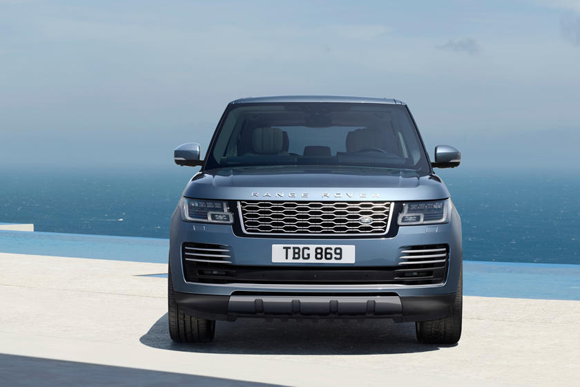 2021 Land Rover Range Rover diesel SUV front view