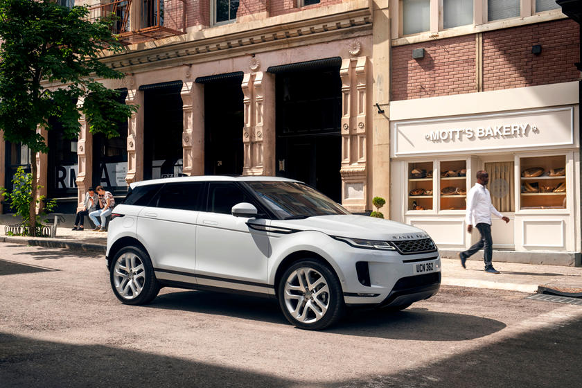 2020 Land Rover Range Rover Evoque side view