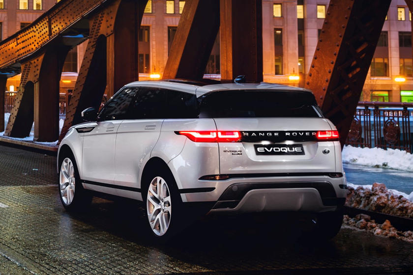 2020 Land Rover Range Rover Evoque rear view