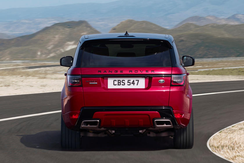 2019 Land Rover Range Rover Sport SUV Rear View