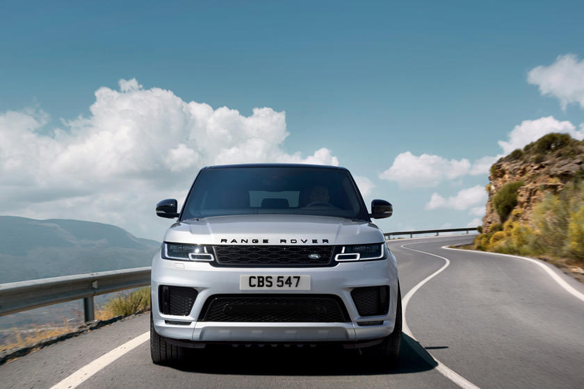 2021 Land Rover Range Rover Sport SVR SUV Front View