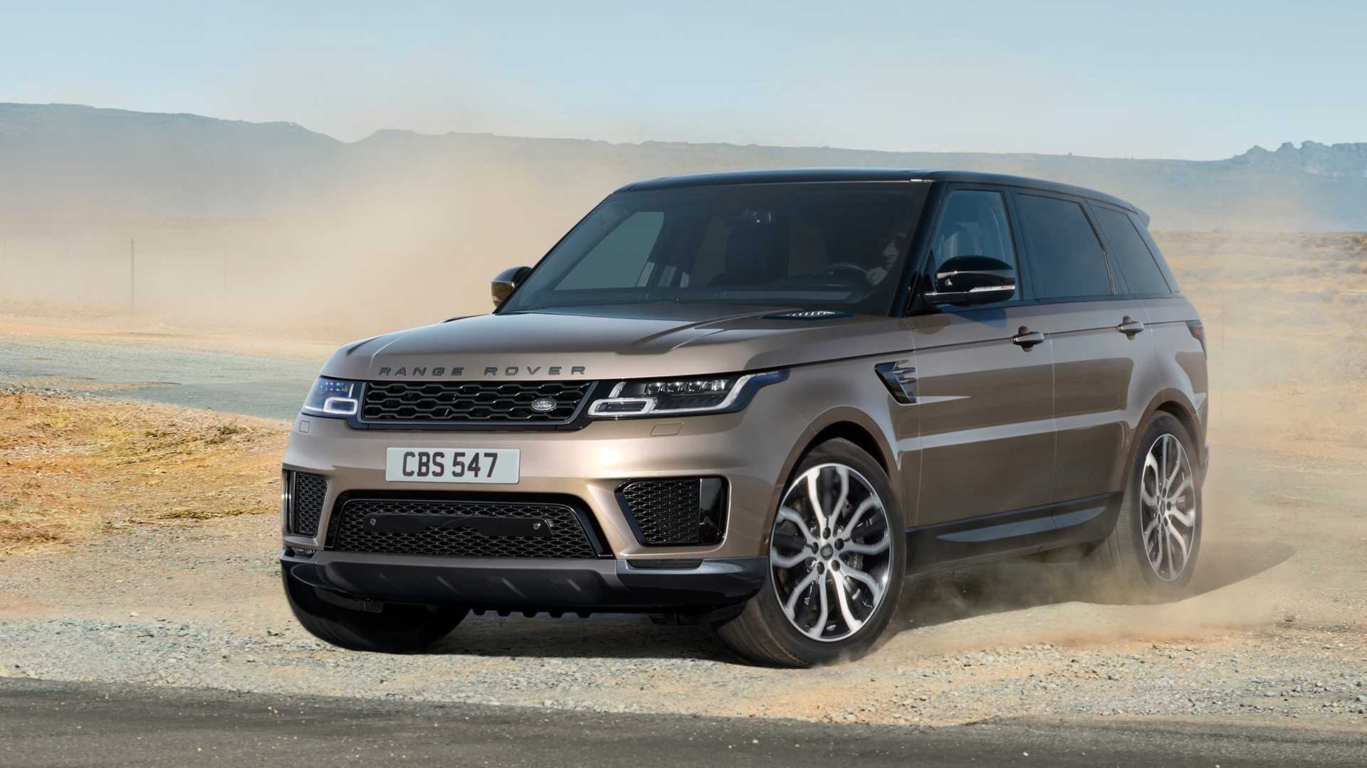 2021 Land rover range rover sport hse suv front view