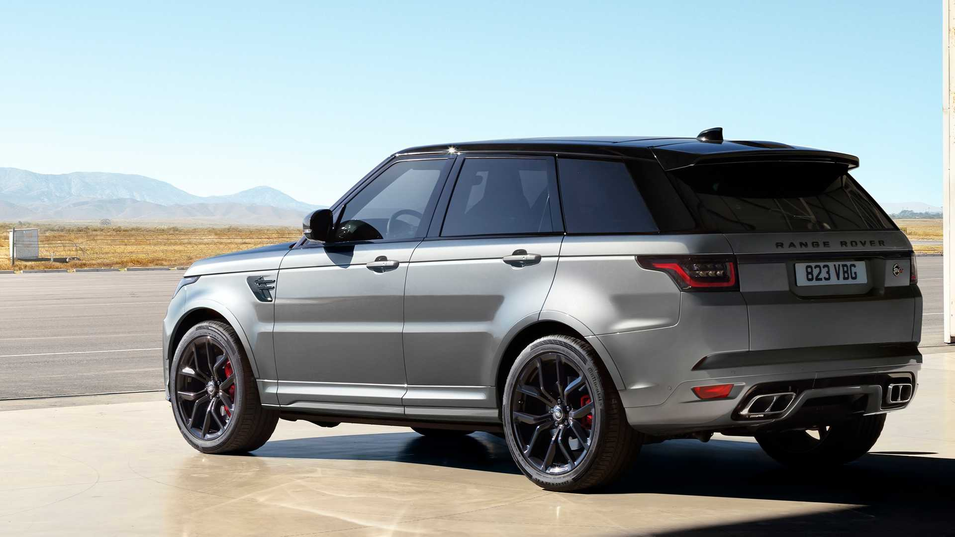 2021 Land rover range rover sport hse suv rear view
