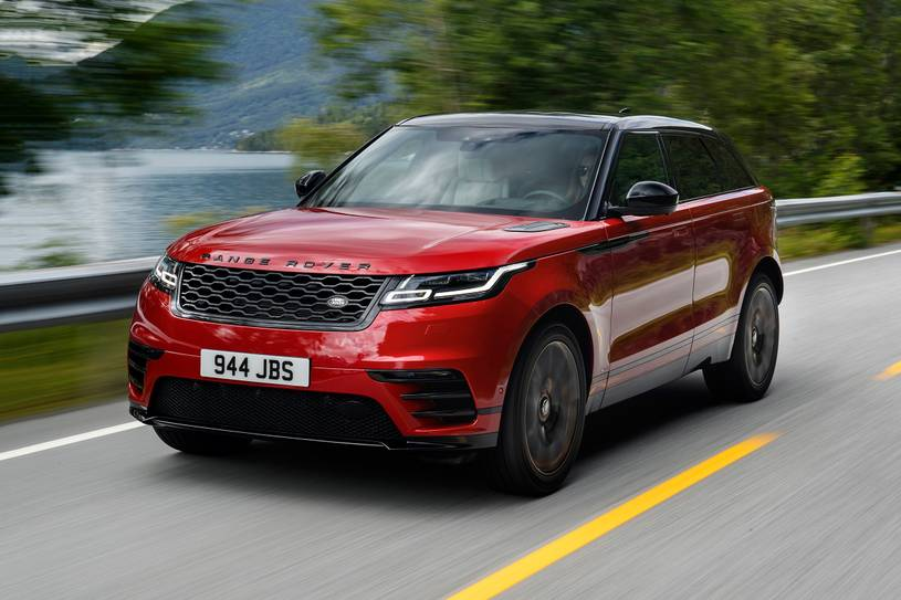 2021 Land Rover Range Rover Velar R-Dynamic front angle view