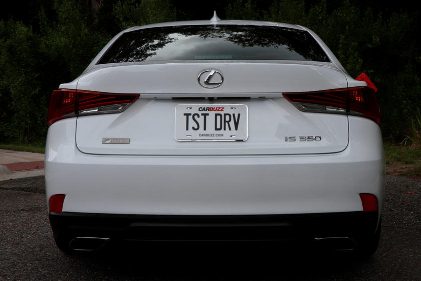 2018 Lexus IS 300 Sedan rear view