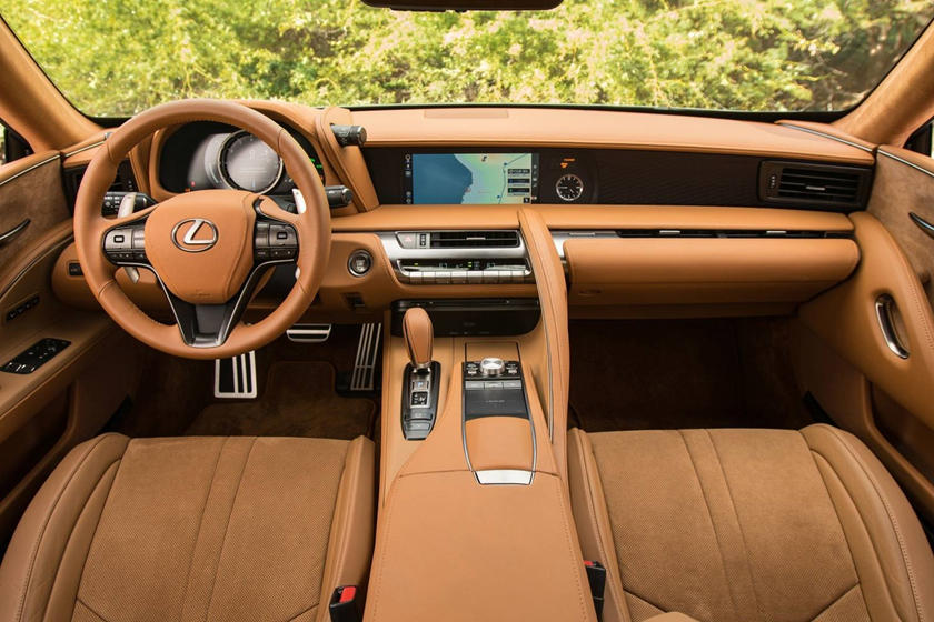 2020 Lexus LC 500 Coupe dashboard