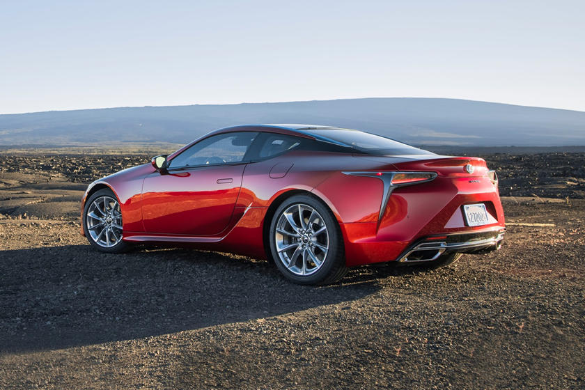 2020 Lexus LC 500 Coupe 3rd Rear View
