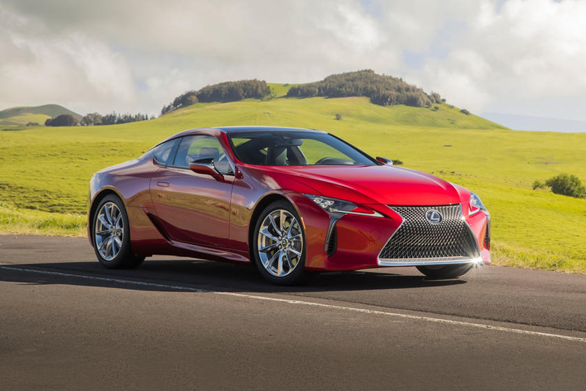 2020 Lexus LC 500 Coupe Front View