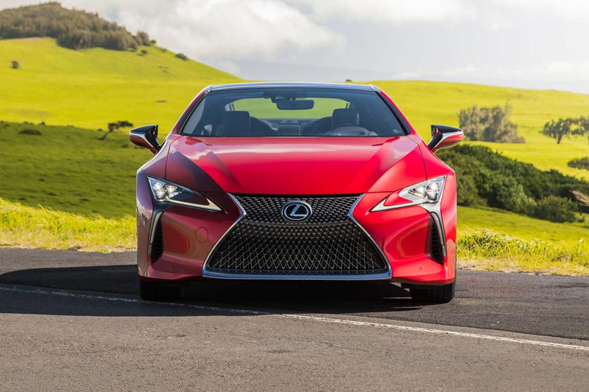 2021 Lexus LC 500 Coupe Front View