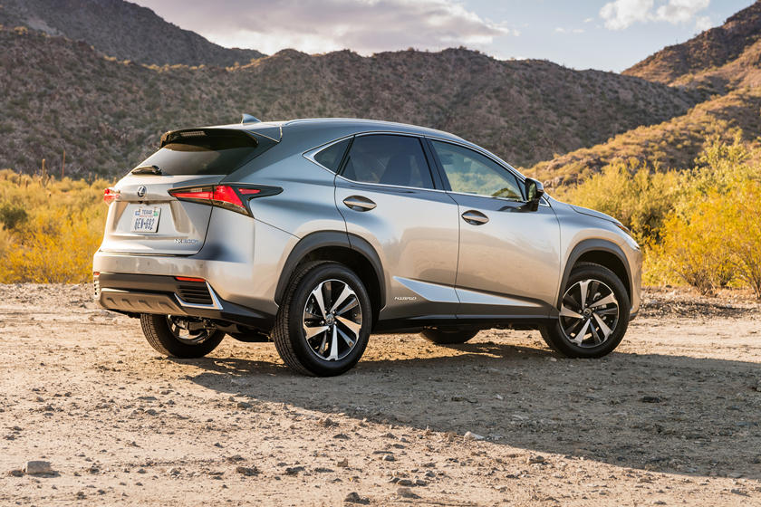 2020 Lexus NX 300h Rear View
