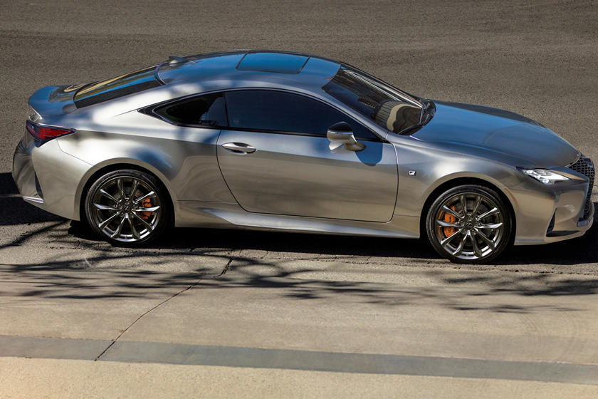 2021 Lexus RC 350 Coupe side view