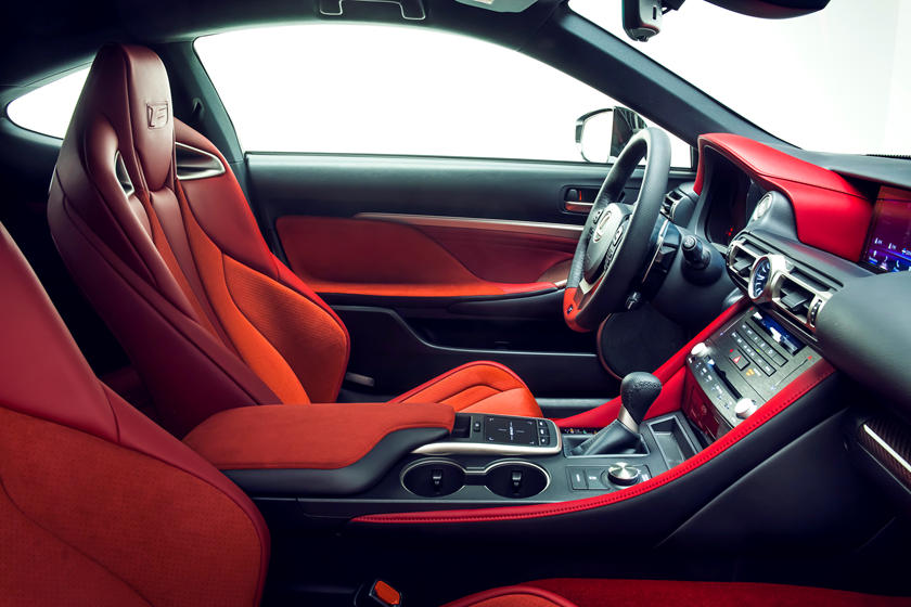 2020 Lexus RC F track edition front seat