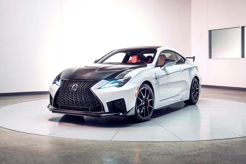2020 Lexus RC F Track Edition front view
