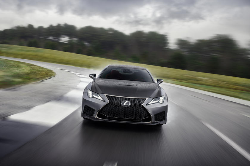 2021 Lexus RC F Coupe Front View