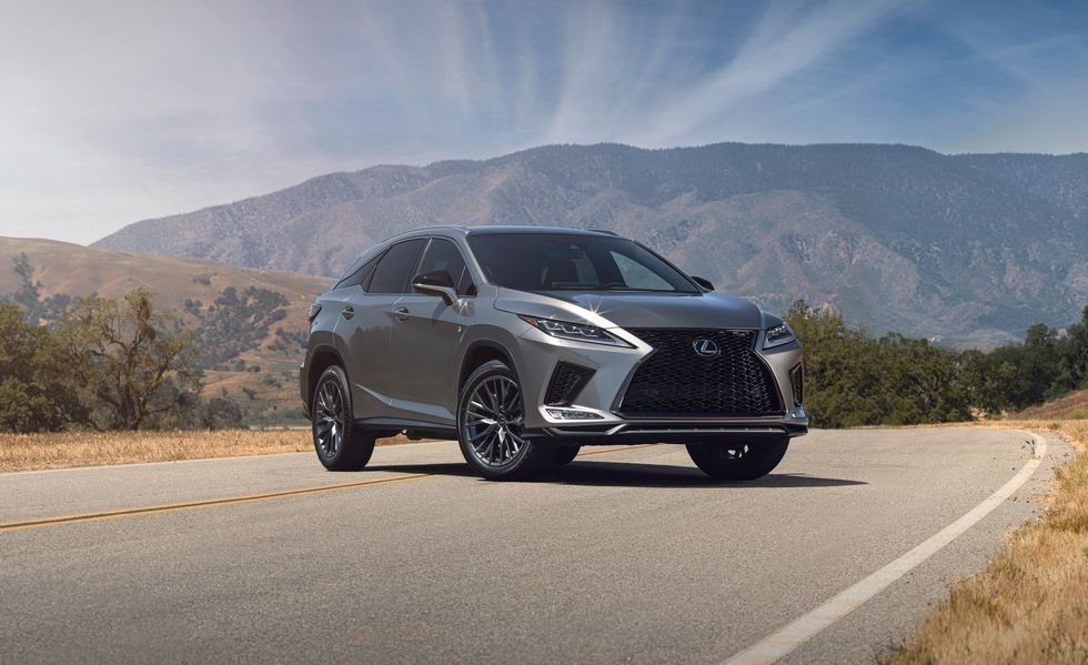 2020 Lexus RX 450h hybrid SUV Front View