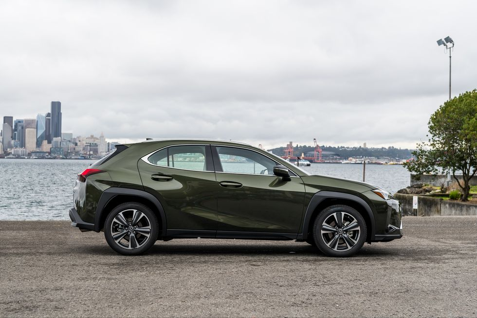 2020 Lexus UX 200 SUV Side View