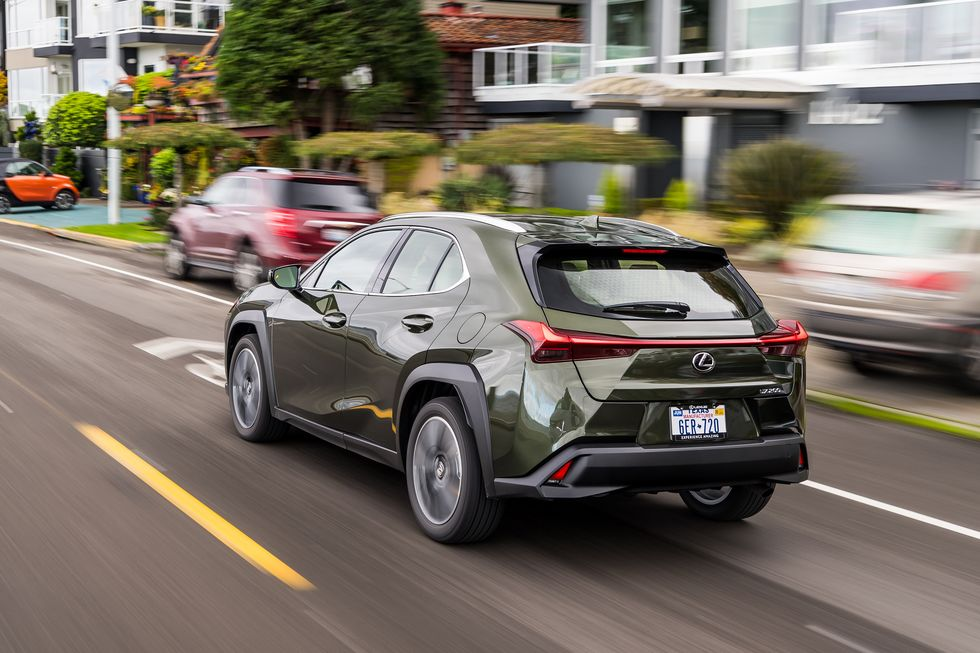 2020 Lexus UX 200 SUV Rear View