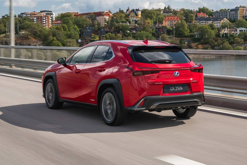2020 lexus ux 250h f sport suv review, ratings, mpg and