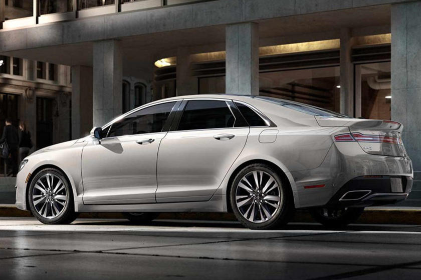 2020 Lincoln MKZ Sedan Rear View