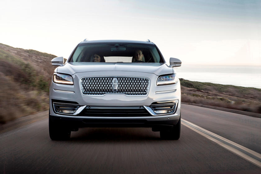 2021 Lincoln Nautilus SUV Front View
