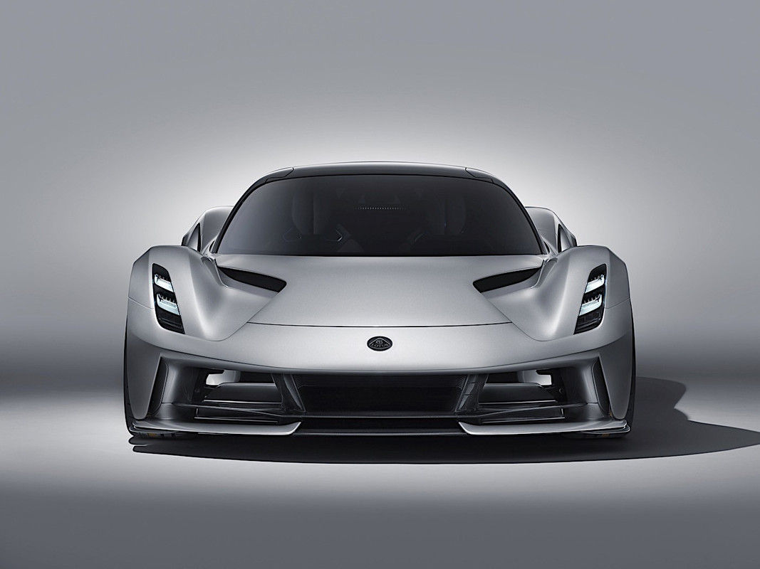 2021 Lotus Evija electric Coupe Front View