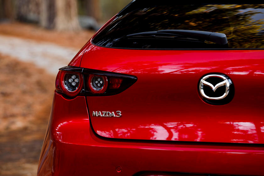 2020 mazda 3 hatchback review, ratings, mpg and prices