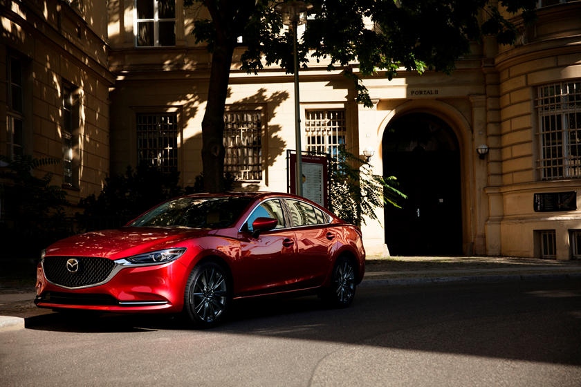 2020 Mazda 6 Sedan Three Quarter View