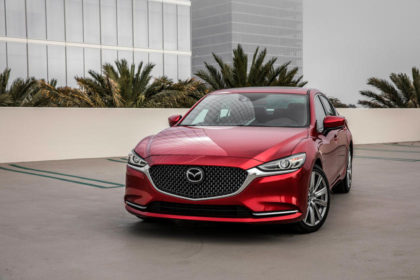 2021 Mazda 6 Front Third Quarter View