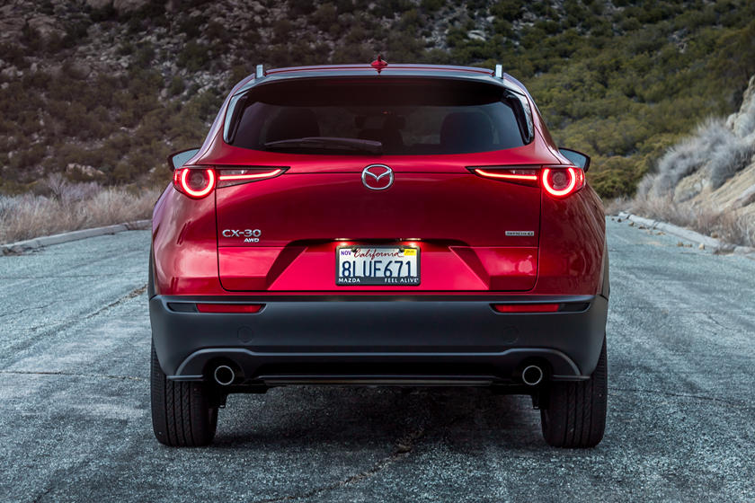 2021 Mazda CX-30 SUV Rear View