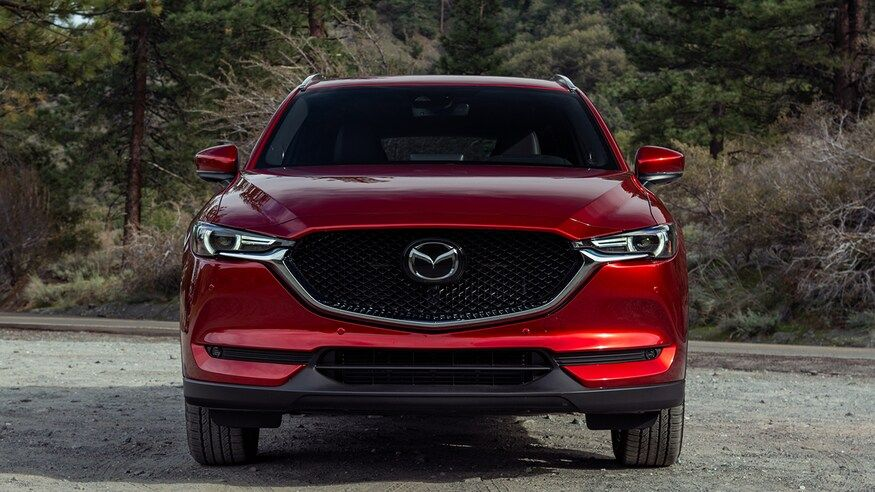 2021 Mazda CX-5 Front View