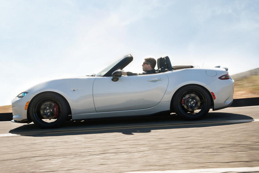 2020 Mazda MX-5 Miata Convertible Side View