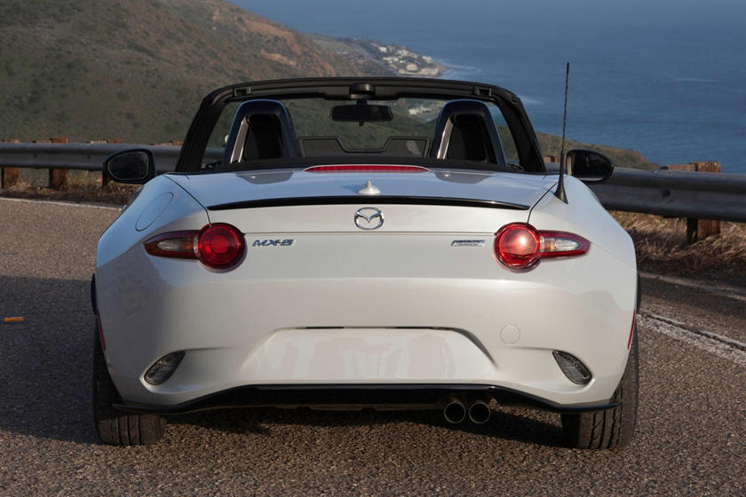 2020 Mazda MX-5 Miata Convertible Rear View