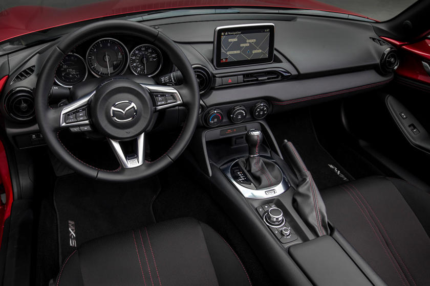 2020 Mazda MX-5 Miata Convertible Dashboard