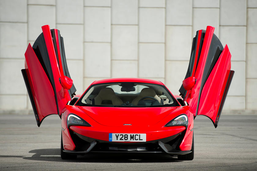 2021 Mclaren 570S Coupe Front View