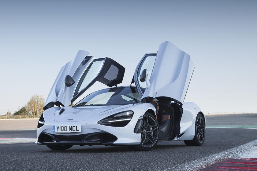 2020 Mclaren 720s Coupe Front View