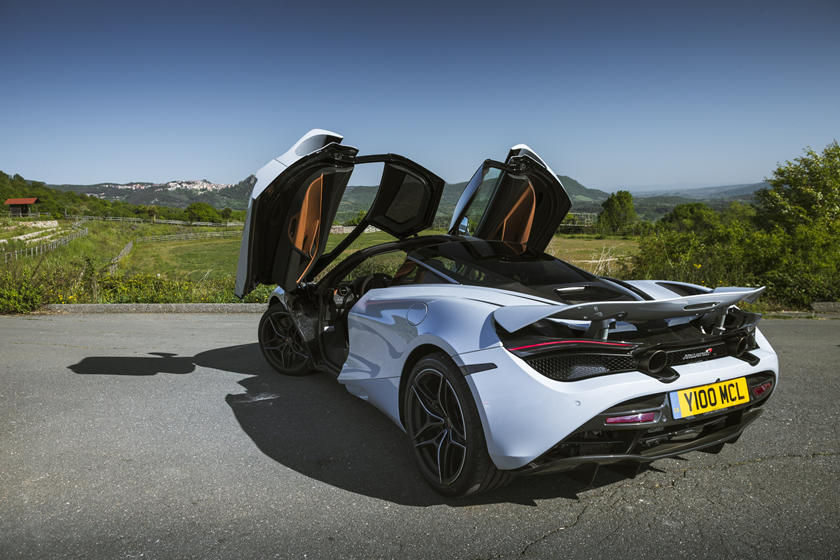 2020 Mclaren 720s Coupe Rear View